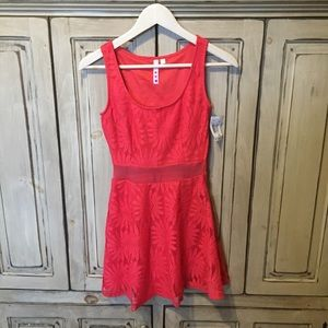 Dresses & Skirts - NWT Dress Coral Pink Color Sz XS
